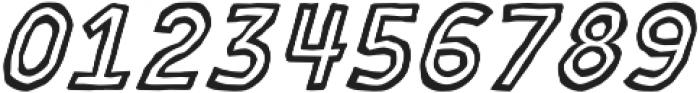 MOVSKATE Ply Italic otf (400) Font OTHER CHARS