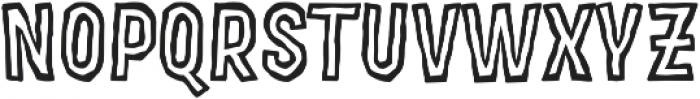 MOVSKATE Ply otf (400) Font UPPERCASE