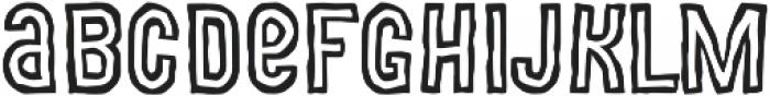 MOVSKATE Ply otf (400) Font LOWERCASE
