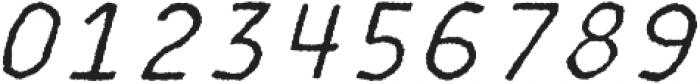 MOVSKATE Slide Italic otf (400) Font OTHER CHARS