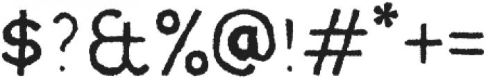 MOVSKATE Slide otf (400) Font OTHER CHARS