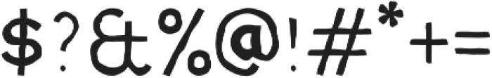 MOVSKATE Wallride otf (400) Font OTHER CHARS