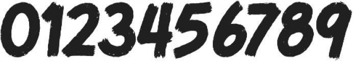 MoT Bloody Bill Butchered Slash otf (400) Font OTHER CHARS