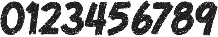 MoT Bloody Bill Mutilated Slash otf (400) Font OTHER CHARS