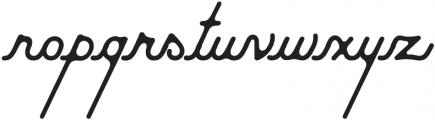 Moabhoers Script otf (400) Font LOWERCASE