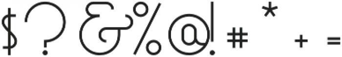 Mocha Script Regular otf (400) Font OTHER CHARS