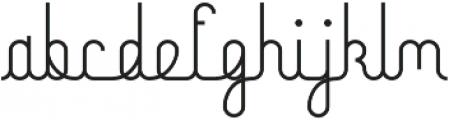 Mocha Script Regular otf (400) Font LOWERCASE