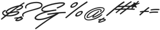 Mocha Script otf (400) Font OTHER CHARS