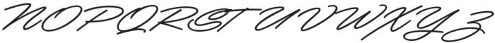 Mocha Script otf (400) Font UPPERCASE