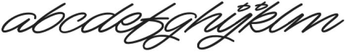 Mocha Script otf (400) Font LOWERCASE
