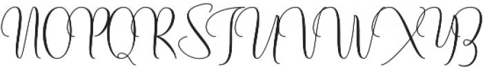 Mochafloat otf (400) Font UPPERCASE