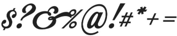 Mochary otf (400) Font OTHER CHARS