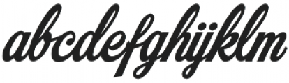 Mochary otf (400) Font LOWERCASE