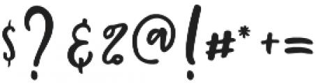 Mochigan Font Duo Regular otf (400) Font OTHER CHARS