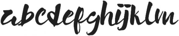 Mochimochi Bold otf (700) Font LOWERCASE