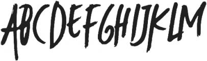 Modaro otf (400) Font UPPERCASE