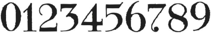 Modena printed Regular otf (400) Font OTHER CHARS