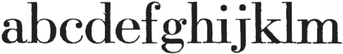 Modena printed Regular otf (400) Font LOWERCASE