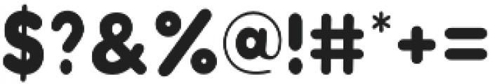 Modern Bohemian Sans otf (400) Font OTHER CHARS