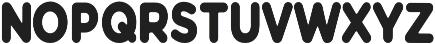 Modern Bohemian Sans otf (400) Font LOWERCASE