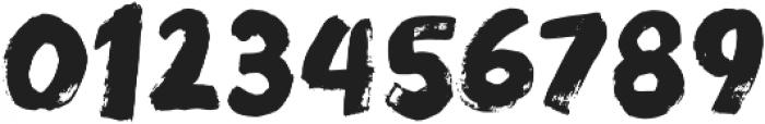 Modern Brush Regular otf (400) Font OTHER CHARS