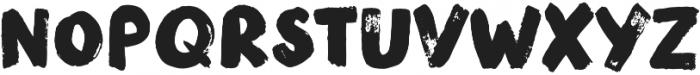 Modern Brush Regular otf (400) Font LOWERCASE