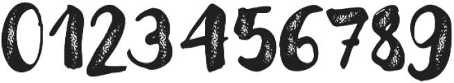 Modern Love Grunge otf (400) Font OTHER CHARS