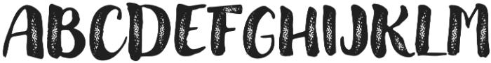 Modern Love Grunge otf (400) Font UPPERCASE