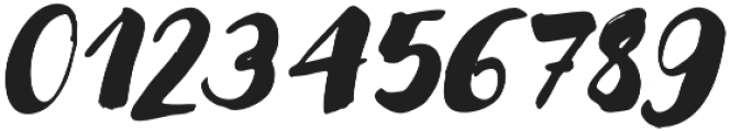 Modern Love Regular Slanted otf (400) Font OTHER CHARS