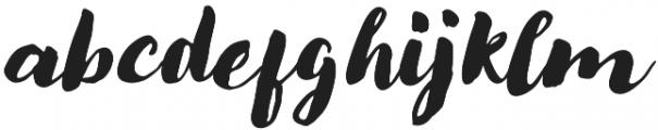Modern Love Regular Slanted otf (400) Font LOWERCASE