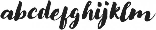 Modern Love Rough Slanted otf (400) Font LOWERCASE