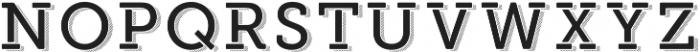 Modern Outdoor otf (400) Font UPPERCASE