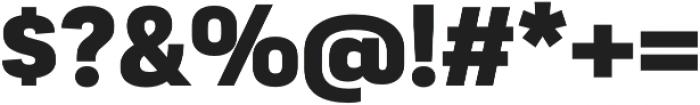 Moderna Sans Black otf (900) Font OTHER CHARS