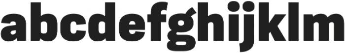 Moderna Sans Black otf (900) Font LOWERCASE