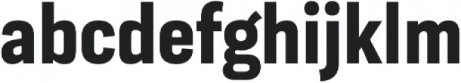 Moderna Sans Bold Cnd otf (700) Font LOWERCASE