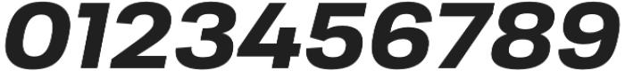 Moderna Sans Bold Ext It otf (700) Font OTHER CHARS