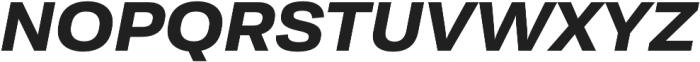 Moderna Sans Bold Ext It otf (700) Font UPPERCASE