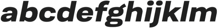 Moderna Sans Bold Ext It otf (700) Font LOWERCASE