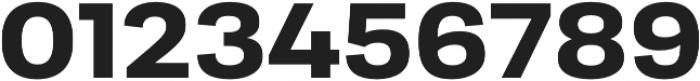 Moderna Sans Bold Ext otf (700) Font OTHER CHARS