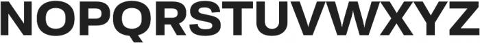 Moderna Sans Bold Ext otf (700) Font UPPERCASE