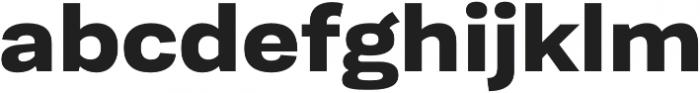 Moderna Sans Bold Ext otf (700) Font LOWERCASE