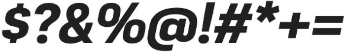 Moderna Sans Bold It otf (700) Font OTHER CHARS