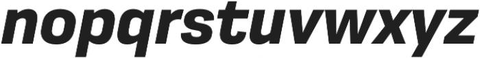 Moderna Sans Bold It otf (700) Font LOWERCASE
