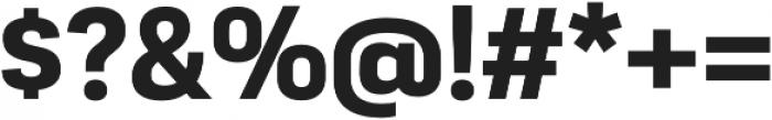 Moderna Sans Bold otf (700) Font OTHER CHARS