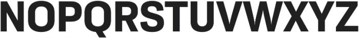 Moderna Sans Bold otf (700) Font UPPERCASE