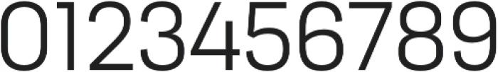 Moderna Sans Light otf (300) Font OTHER CHARS