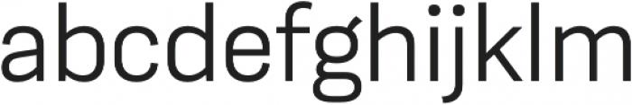 Moderna Sans Light otf (300) Font LOWERCASE