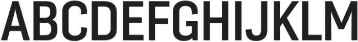 Moderna Sans Medium Cnd otf (500) Font UPPERCASE