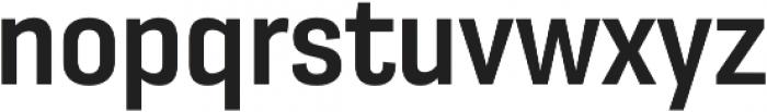 Moderna Sans Medium Cnd otf (500) Font LOWERCASE
