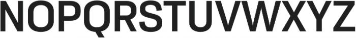 Moderna Sans Medium otf (500) Font UPPERCASE